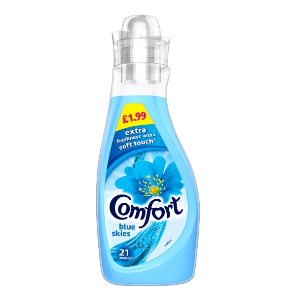 Comfort Blue skies Fabric Conditioner 21 Wash 750ml