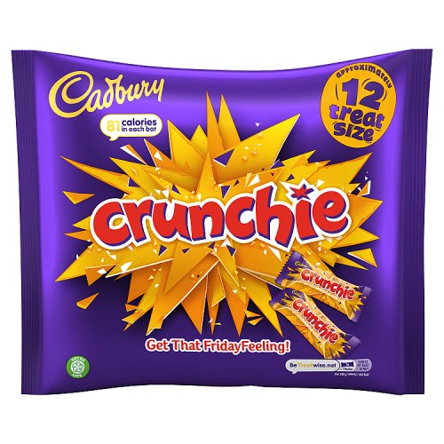 Cadbury Crunchies 12 pack treat size