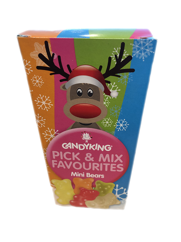 Best before 31/11/2020 Candy King Pick&Mix Favourites Mini Bears 125g