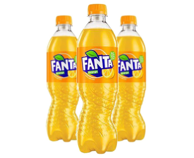Fanta Orange 500ml (3 Pack)