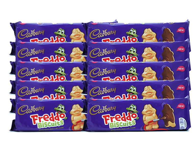 New Customer Special, Cadbury Dairy Milk Freddo Chocolate Biscuits, 167 g, Pack of 10