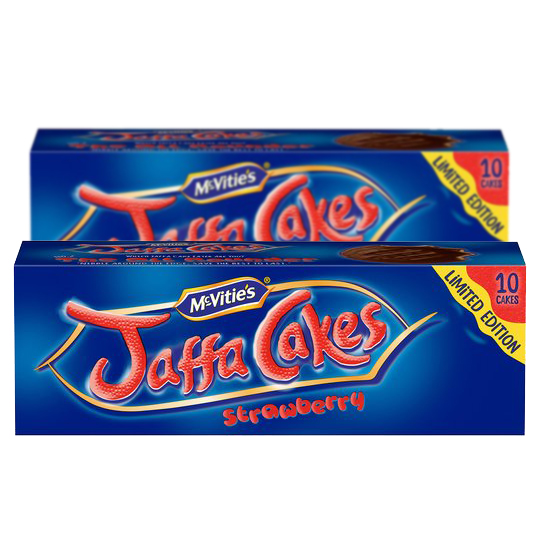 Mcvities Jaffa Cakes Strawberry 10 Pack (Twin Pack)