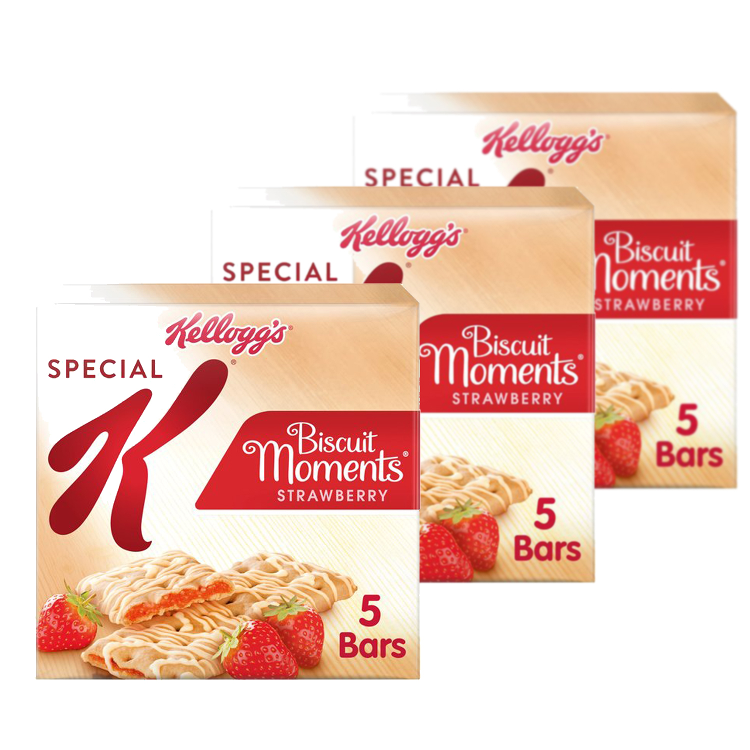 Kelloggs Special K Strawberry Biscuit Moments (Triple Pack)