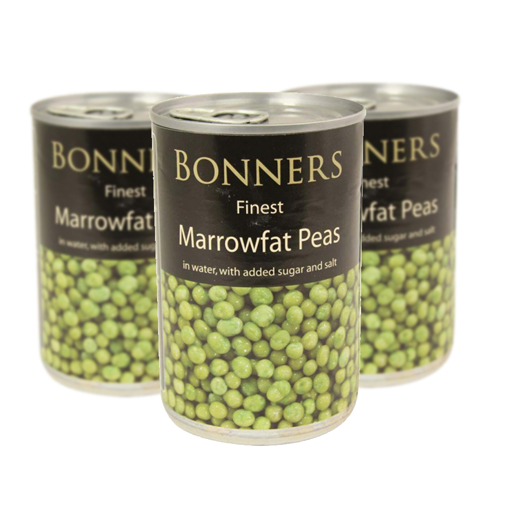 Bonners Marrowfat Peas 300g (Triple Pack)
