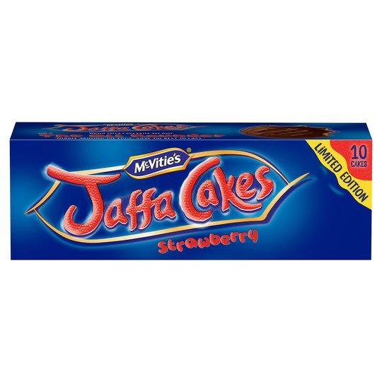 Best Before 05/09/2020 Mcvities Jaffa Cakes Strawberry 10 Pack