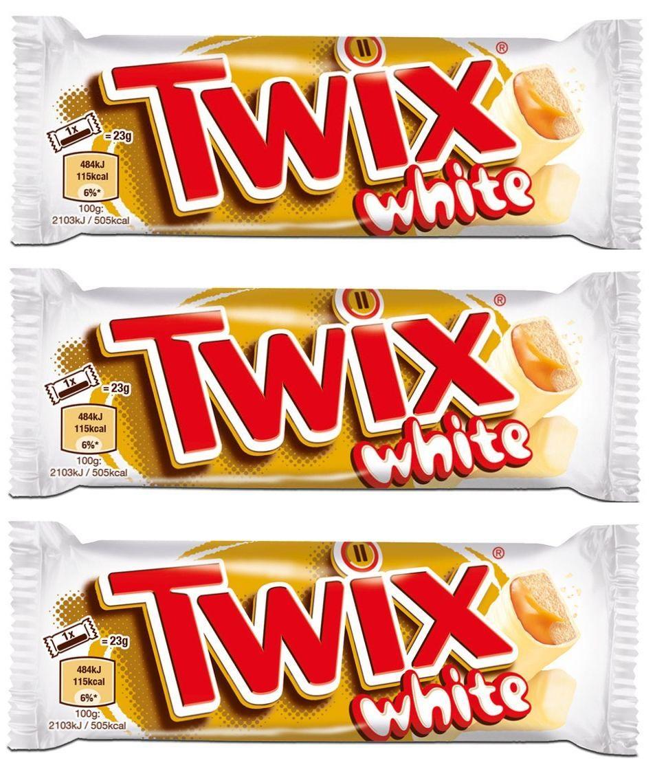Best Before 26/04/2020 Twix White Chocolate 46g x3 (Triple Pack)