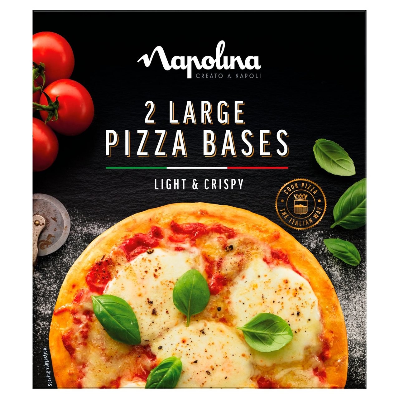 Best Before 14/04/2021 Napolina Large Pizza Bases 2 x 150