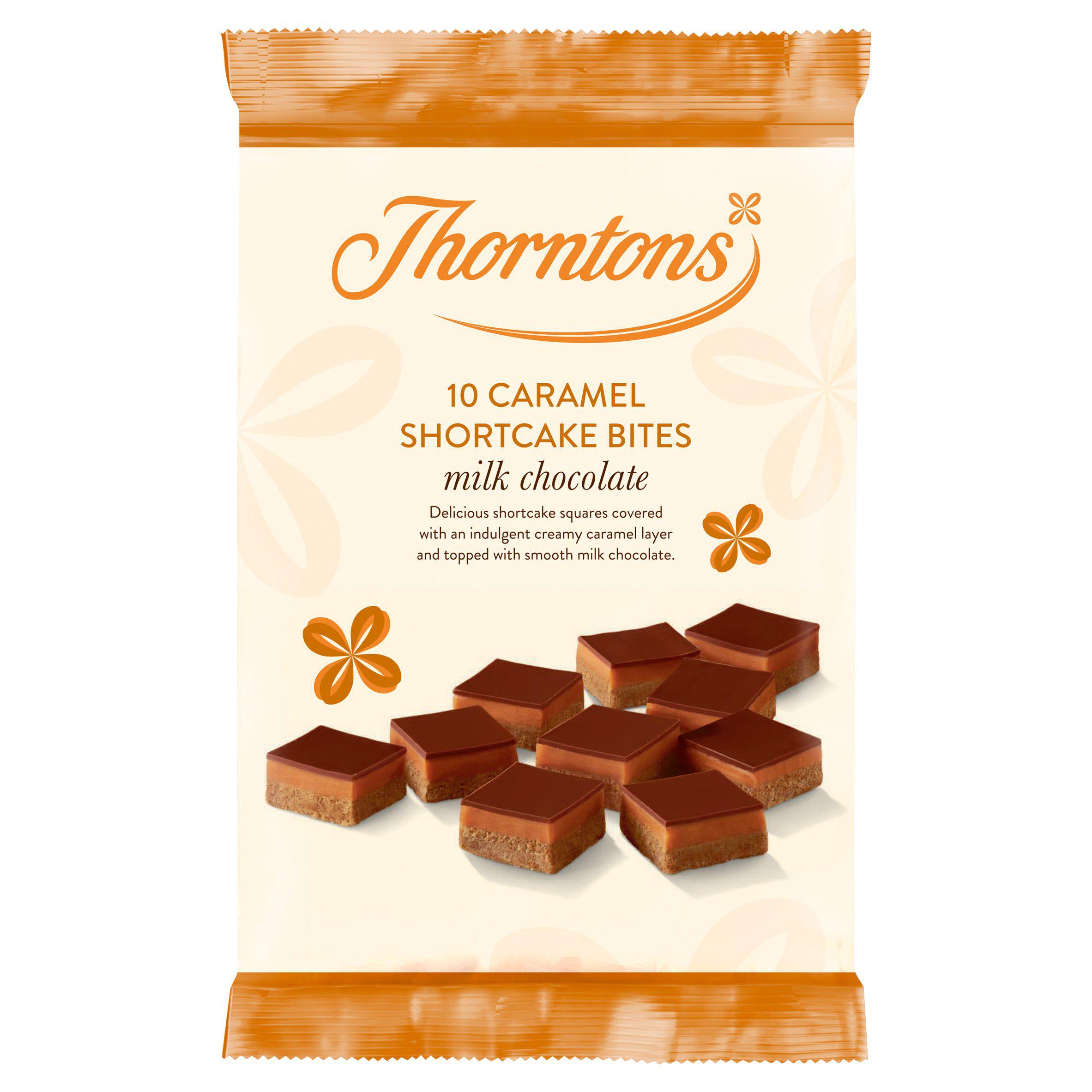 Best Before 22/12/2020 Thorntons Caramel Shortcake Bites