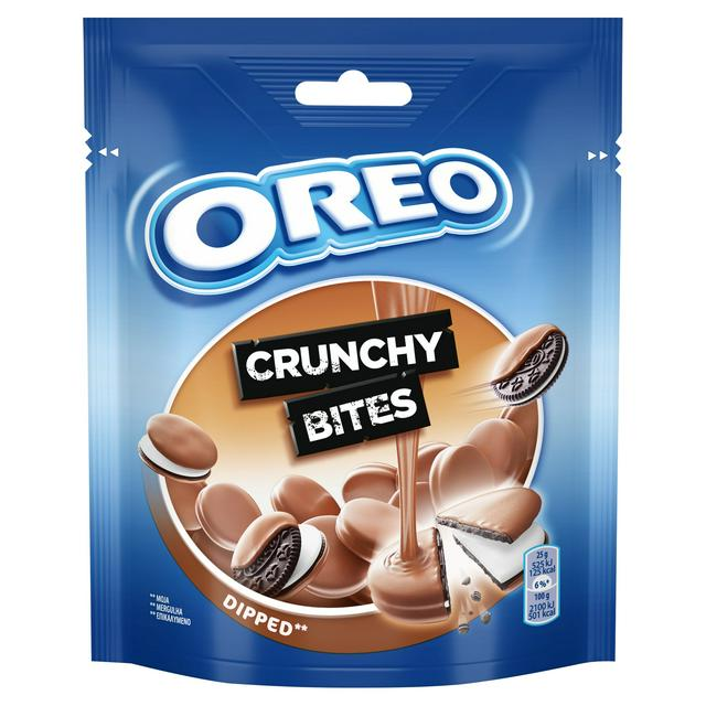 Oreo Chocolate Dipped Crunchy Bites Pouch 110g