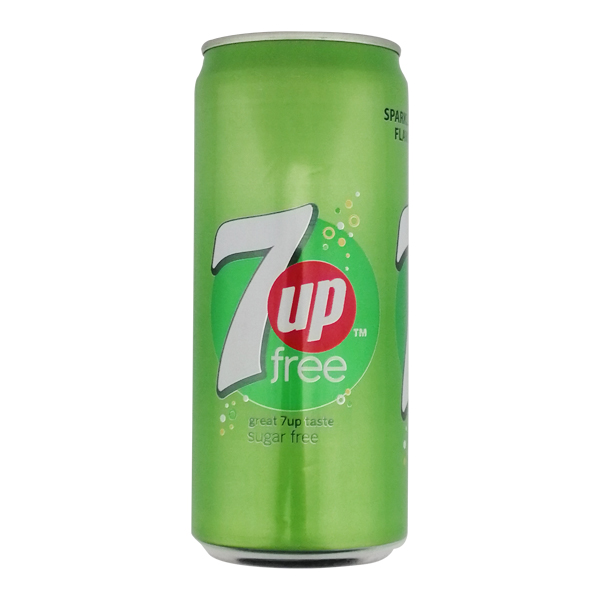 7Up Sugar Free Can 250ml