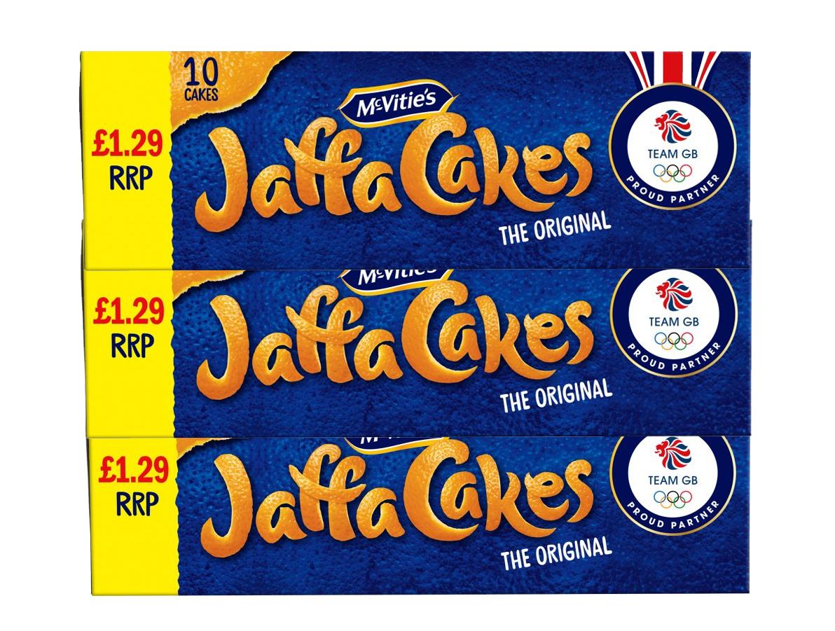 Triple Pack, Best Before 28/11/2020 Jaffa 10 cakes