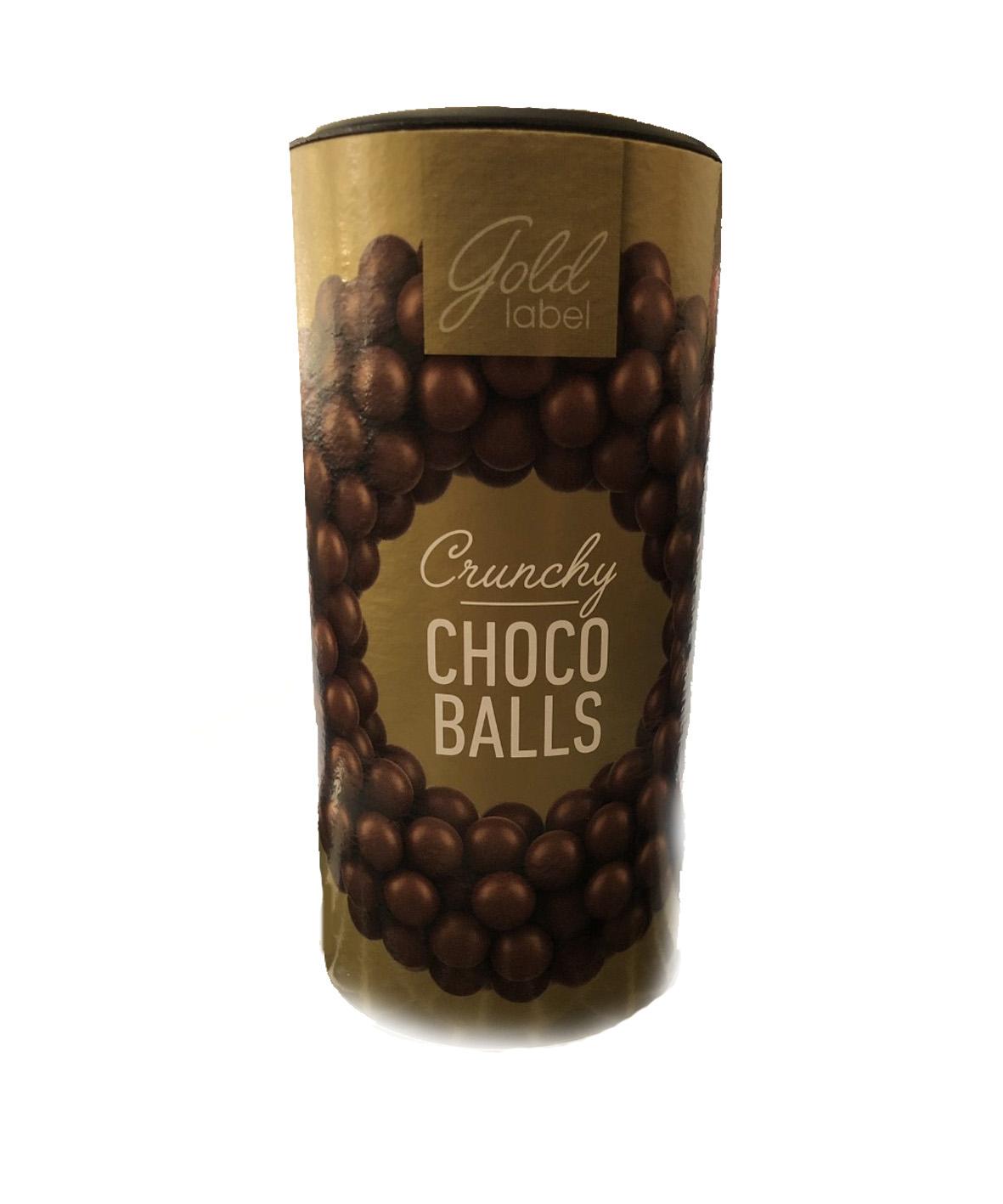 Gold Label crunchy choco balls 125g