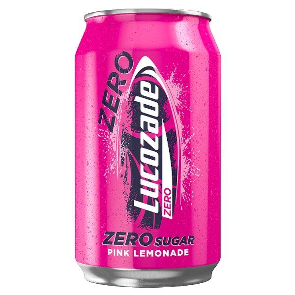 Lucozade Zero Pink Lemonade 330ml