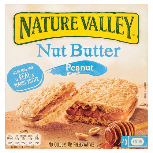 BEST BEFORE 19/09/2021 Nature Valley Nut Butter Peanut 152g