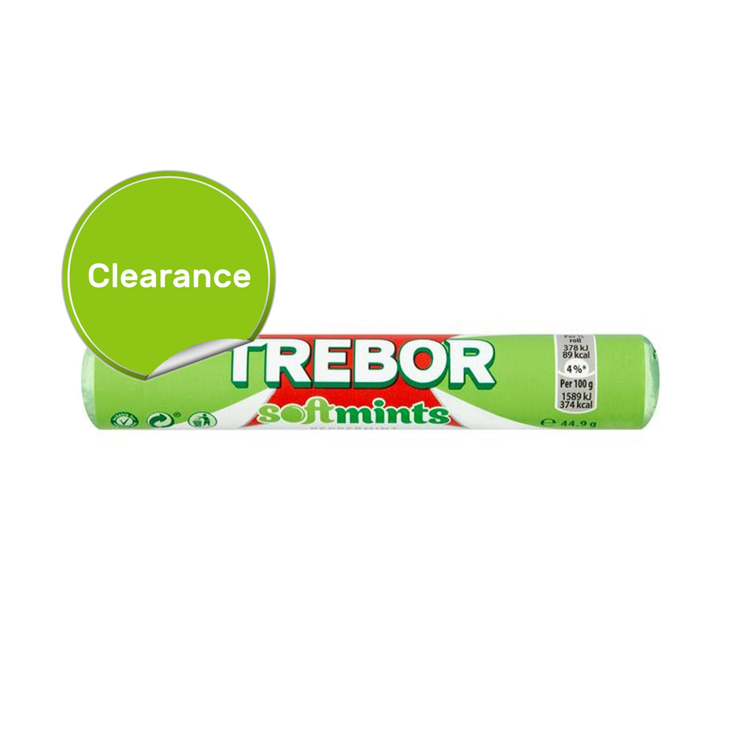 Best Before 18/07/2021 Trebor Softmints Peppermint 43g