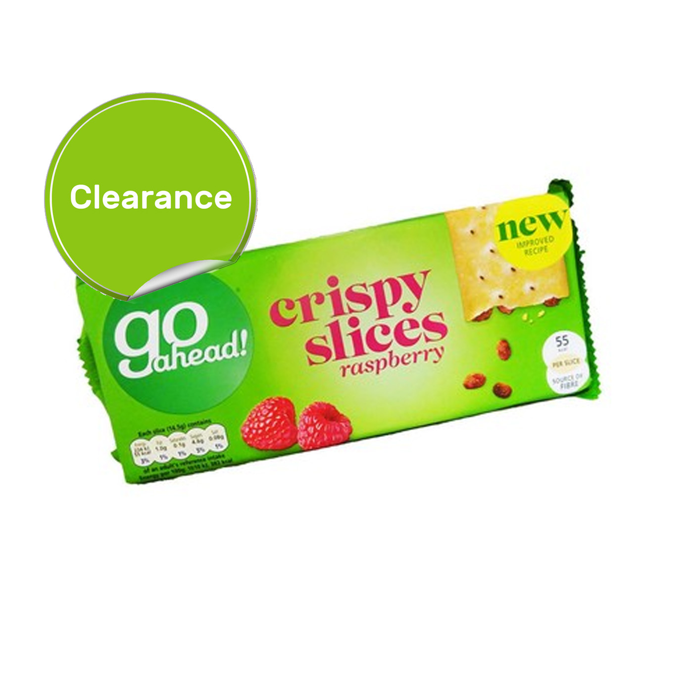 BEST BEFORE 07/08/2021 Go Ahead! Crispy Forest Fruit Slices