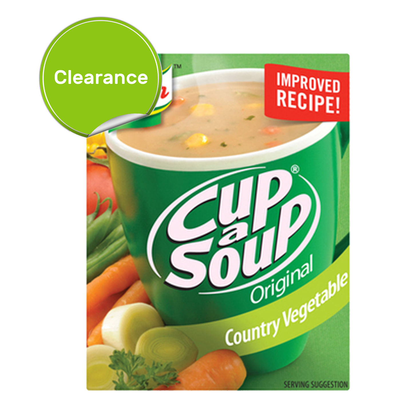 Best Before 31/07/2021 Knorr Vegetable Cup a Soup