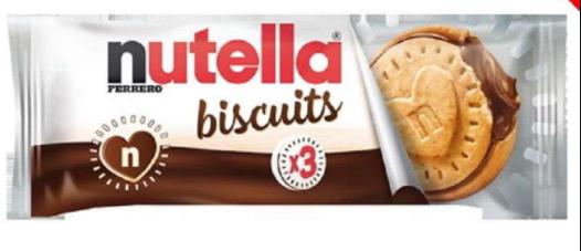 Nutella Ferrero Biscuits 41.4g