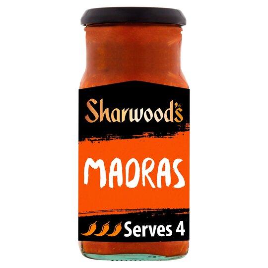 Sharwoods Madras Sauce 400G Flava Benefits